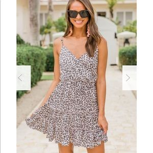 Loving You Is Fun Animal Print dress